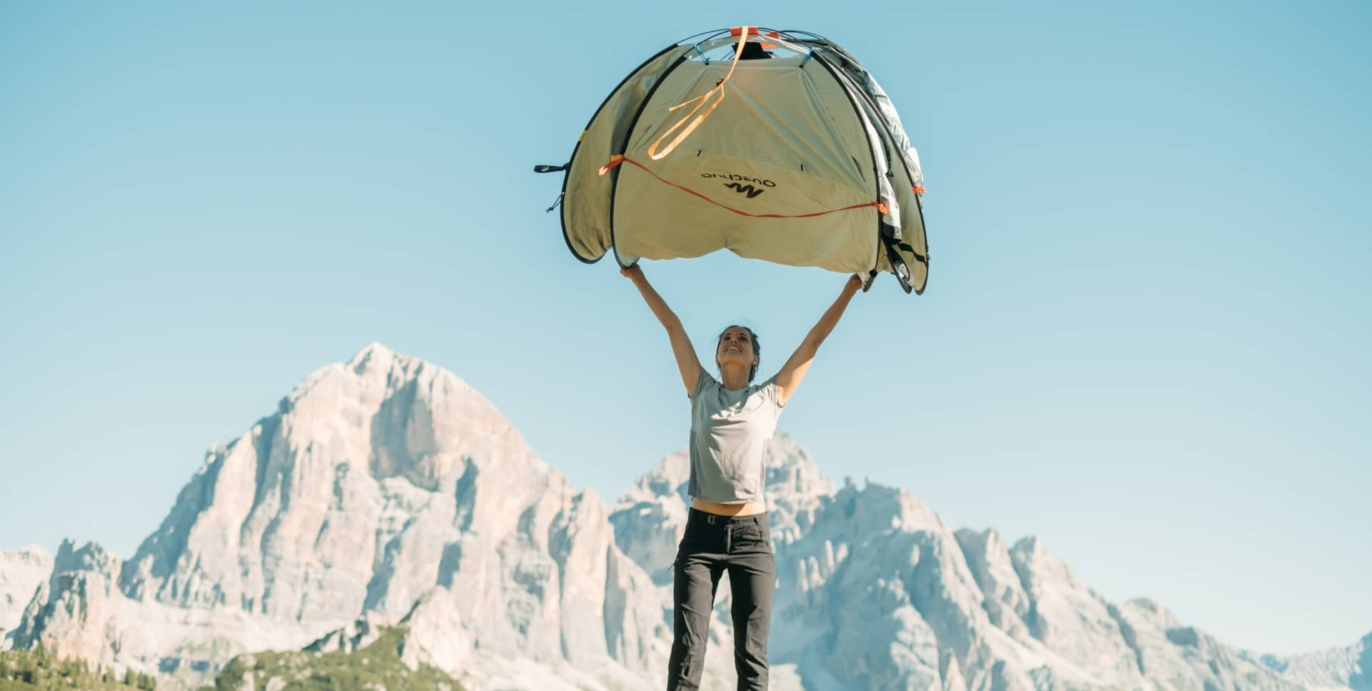 Quechua 2 Second Pop-Up Instant Tent - the best pop up tent of the year