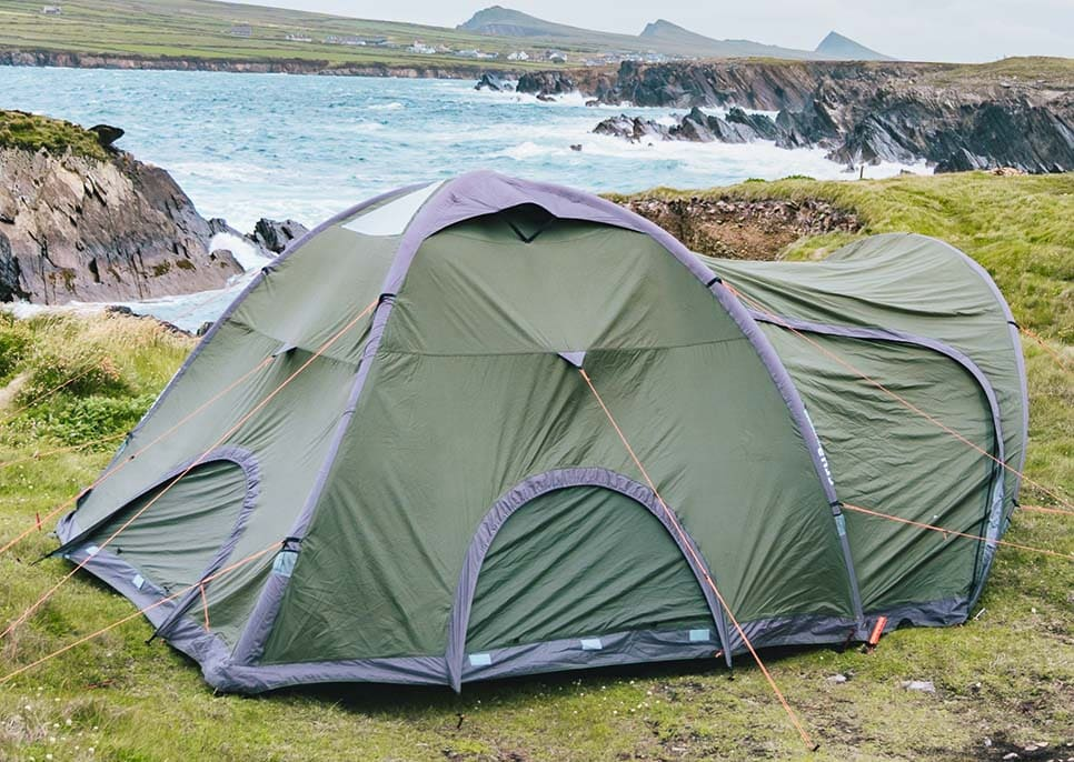 The Crua Core Dome is an instant tent that is great for bad weather