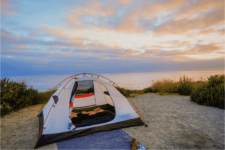 What is a freestanding tent? + Non-freestanding compared