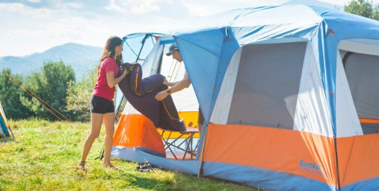 Dome vs cabin tent