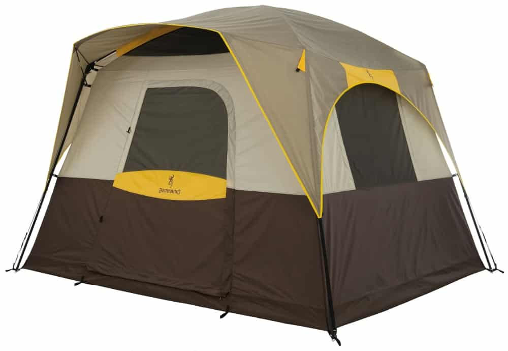 The 5 man Browning Big Horn - the top 5 man tent for tall people - is a cabin tent with a lot of vertical height