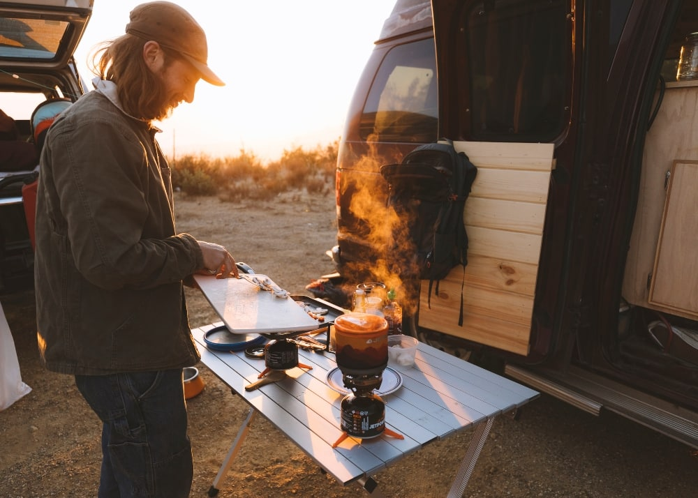 The ease of cooking was a big plus for us in our jetboil minimo camping stove review.