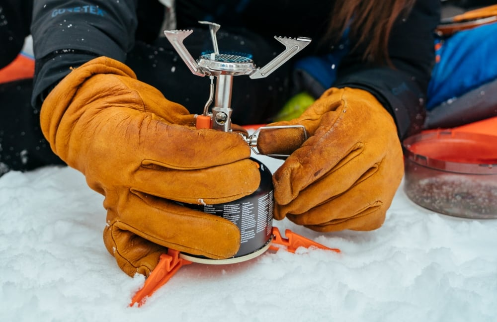 Performance in cold temperatures is really important for winter expeditions.
