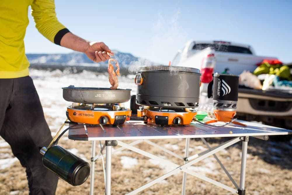 The size of the Genesis makes it the best jetboil stove for families